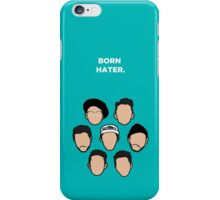 Born Hater - Faces iPhone Case/Skin