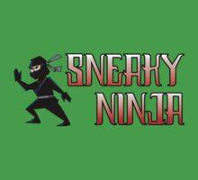 Sneaky Ninja One Piece - Short Sleeve