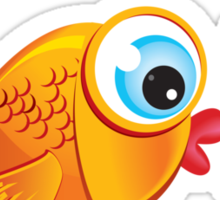 Critterz - Fish :: Olive & Pickles Sticker