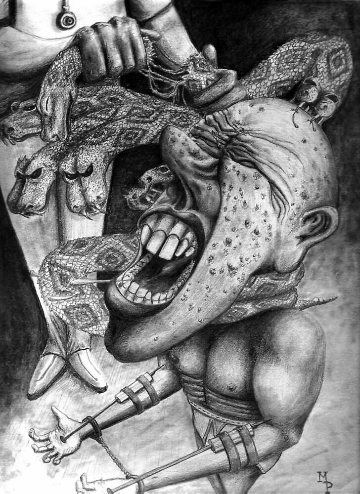 Breaking the Serpents by weirdpuckett