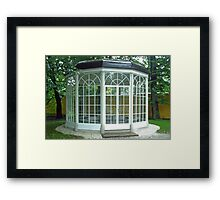 Sound of music gazebo Framed Print