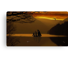 Islands in the Steam Canvas Print