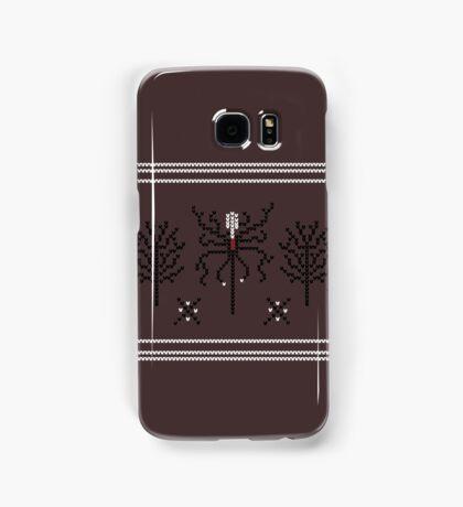 Knitted Slenderman Samsung Galaxy Case/Skin