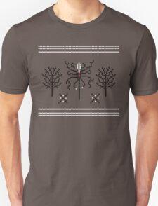 Knitted Slenderman Unisex T-Shirt
