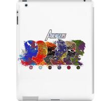 A Splash of Heroism iPad Case/Skin