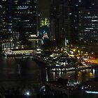 Singapore By Night by phil decocco