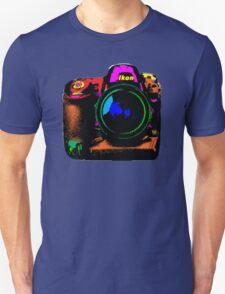 Camera pop art Unisex T-Shirt