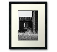 The Side Door Framed Print