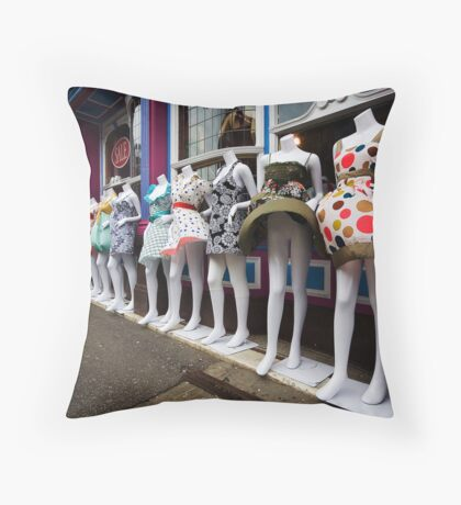 Windblown. Throw Pillow