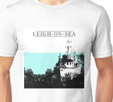 Here to stay leigh on sea Unisex T-Shirt