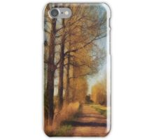 The path to the river iPhone Case/Skin