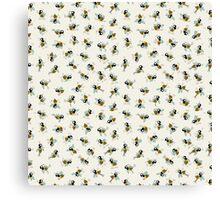 Dancing bee Canvas Print