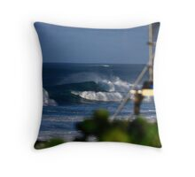 gas chambers  Throw Pillow