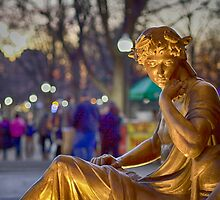 Boston Common Thinker by ishotit4u