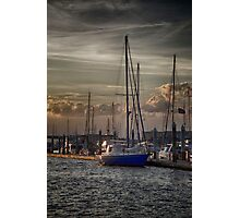 Cooper River at Sunset Photographic Print