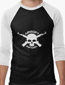 Airsoft Infidel Men's Baseball ¾ T-Shirt