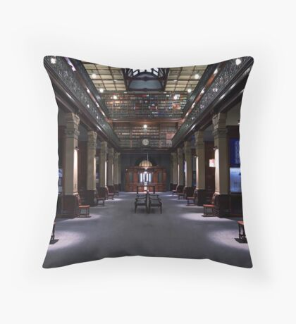Mortlock Library - Lower Level. Throw Pillow