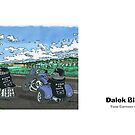 Dalek Bikers by ToneCartoons