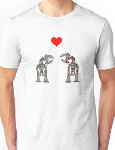 Robot Love Unisex T-Shirt