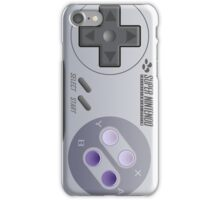 Super Nintendo Controller - That's It iPhone Case/Skin