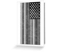 Barcode Flag Greeting Card