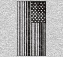 Barcode Flag T-Shirt