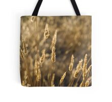 Golden Crop Tote Bag