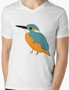 Kingfisher Mens V-Neck T-Shirt
