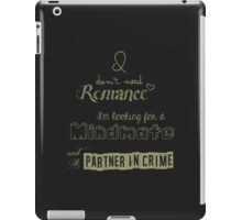 Looking for a Mindmate (text only - dark) iPad Case/Skin