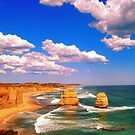 The Twelve Apostles, Great Ocean Road by Tamara Travers