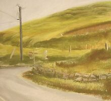 Ireland: Country Crossroad by jlight