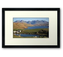 Gesto Bay and The Cuillins Framed Print