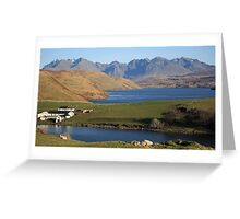 Gesto Bay and The Cuillins Greeting Card