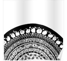 Zentangle Arch of Nature Poster