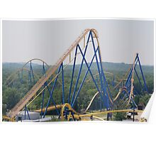Nitro, Six Flags Great Adventure Poster