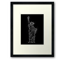 Staue of Liberty Framed Print