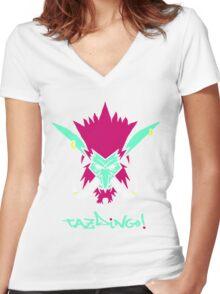 Tazdingo! Sen'Jin Women's Fitted V-Neck T-Shirt