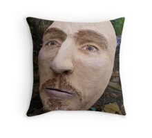 db in the garden  Throw Pillow