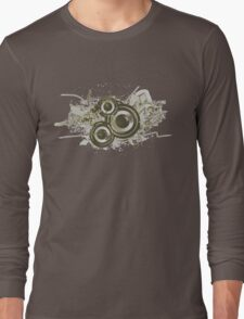 Speaker Swirls Long Sleeve T-Shirt