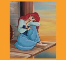 The Little Mermaid Disney - Ariel Romantic Portrait T-Shirt