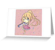 Kaori-chan Greeting Card