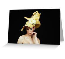 hat ??? Greeting Card