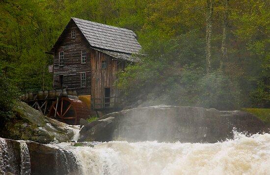 Glade Creek Grist Mill II by KSkinner