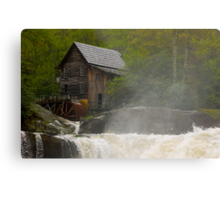 Glade Creek Grist Mill II Metal Print