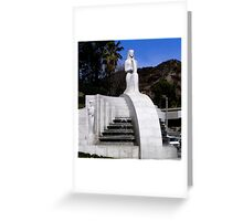 Muses Fountain, Hollywood Bowl Greeting Card