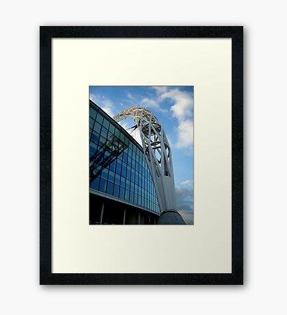 Wembley Arch Framed Print