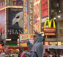 Times Square by Bhumi Shah