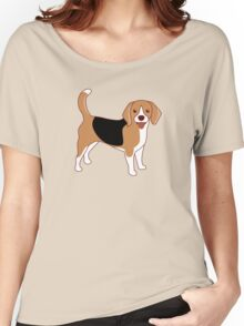 Beagle Dog Women's Relaxed Fit T-Shirt
