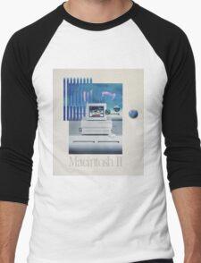 Macintosh II Vaporwave Men's Baseball ¾ T-Shirt
