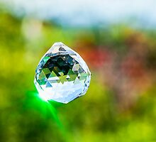 Jewel Crystal hanging outdoors  by PhotoStock-Isra